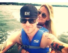 Brian and his wifey :) forever friends love kaitlin