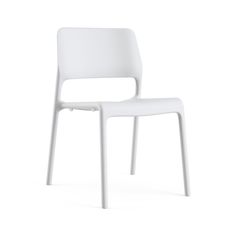 Spark® Series Side Chair | Knoll I glass reinforced polypropylene, stackable; seat pad available;  20W 22D 31H