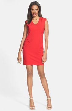 #Calvin Klein #Dresses #Calvin #Klein #Sheath #Dress #(Regular #Petite) #Cherry Calvin Klein Sheath Dress (Regular & Petite) Cherry 4 http://www.seapai.com/product.aspx?PID=5342603