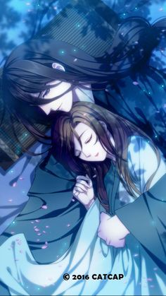 Please visit our website to support us! Couple Anime Manga, Anime Love Couple, Cute Anime Couples, Anime Guys, Manga Anime, Chinese Drawings, Chinese Art, Fantasy Kunst, Fantasy Art