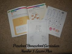 Preschool Homeschool Curriculum: Number 5 Lesson Plan | The Parenting Patch