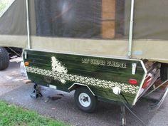 painting your pop up camper - Google Search