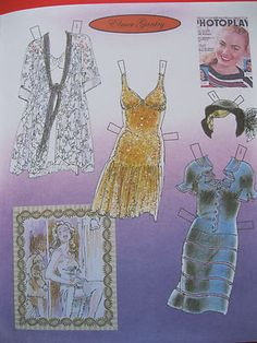 Shirley Jones paper doll clothes / geb.ebay.in