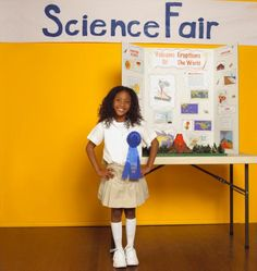 Science Fair: Parents Guide to Science Fair Projects (Photo: Getty Images) Engineering Science Fair Projects, Science Fair Topics, Volcano Science Projects, Science Project Board, Science Experiments Kids, Science Activities, County Fair Projects, Second Grade Science, Middle School
