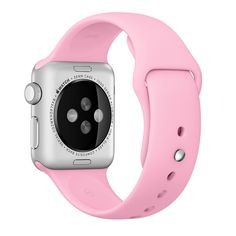 Apple watch band, Lilac Decouart Soft Silicone Replacement Sport Band for 42mm 38mm