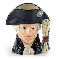 Royal Doulton Miniature Character Jug, George Washington
