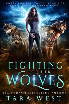 Fighting for Her Wolves: A Reverse Harem Paranormal Romance (Hungry for Her Wolves Book Teen Romance Books, Fantasy Books To Read, Paranormal Romance Books, Fantasy Book Covers, Best Books For Teens, Best Books To Read, I Love Books, Good Books, My Books