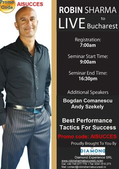 http://www.aisucces.ro/robin-sharma-live-to-bucharest-romania/ …