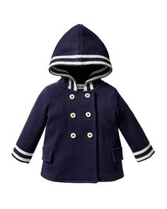 Baby Juicy Couture Sailor Jacket. These things are cute, but designer baby clothes are . . . impractical. $128? I don't even spend that on myself!