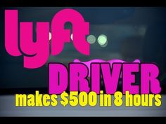 Lyft Driver makes $500 in 8 Hours on NYE