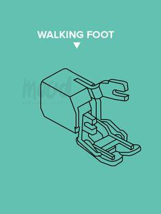 All About Presser Feet | Walking Foot