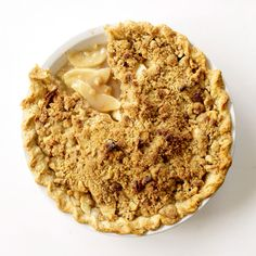 Dutch Apple Pie   Grace Parisi uses a mix of Granny Smith, Pink Lady and Golden Delicious apples for this iconic dessert.