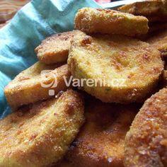 Cuketa v česnekovém těstíčku recept - Vareni.cz French Toast, Breakfast, Food, Morning Coffee, Essen, Meals, Yemek, Eten