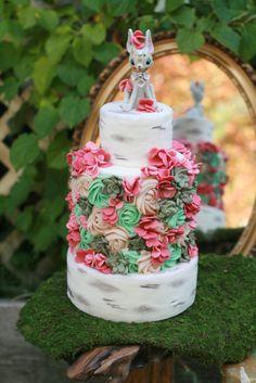 Secret Garden Cake - Starbird Bakehouse
