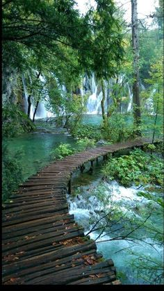 Plitvice lakes, croatia. Taken on a rainy day but still.....not bad!!