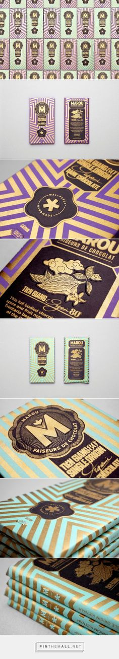 """Marou for Wallpaper* UK Special Edition """"When Wallpaper* Magazine discovered Marou Chocolate, they felt that this single origin dark chocolate, hand-crafted in Saigon was a perfect match for their third annual Handmade issue (an issue with a focus on unique products combining luxury, craft and inspiration)."""