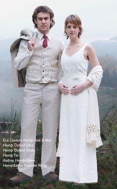 organic wedding dresses