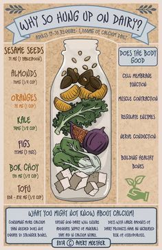 Delicious and Totally Vegan Ways to Get Calcium Great vegan sources of calcium!Great vegan sources of calcium! Vegan Nutrition, Health And Nutrition, Health Tips, Toddler Nutrition, Nutrition Quotes, Proper Nutrition, Nutrition Guide, Nutrition Education, Plant Based Diet