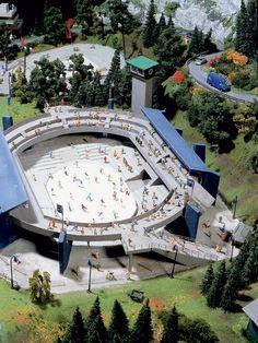 Austragungsort der Olympischen Winterspiele, Miniatur-Wunderland
