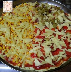 Cozinhando sem Glúten: Pizza multi sabores