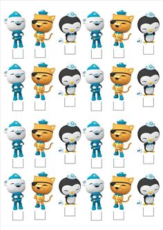 Standing Cake Toppers Rice Paper Wafer Sturdy Edible CARD