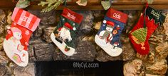 [On aime] Mes chaussettes et ornements personnalisés | my personalised stockings and ornaments [wowwee] - Nycyla @nycyla