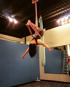 """New move today in hammock:) #kairosfitness #aerialhammock #aerialist"""