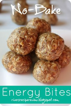 No Bake Energy Bites at http://therecipecritic.com These are the perfect after school snack or workout snack! Packed with omega 3, fiber, and protein these are an awesome snack!
