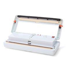 220V 50Hz Food Saver Vacuum Sealers System Kitchen Storage Bag Packaging Machine 40-28mm
