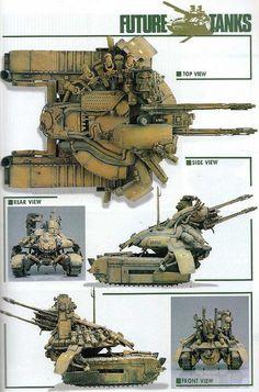 Tank, miniature by Kobayashi
