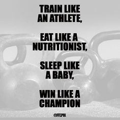 It's a process. Eat 🍗 Sleep 🌙 Train 💪to get the results you want -