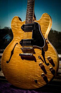 High nut :: Gibson Custom Shop ES-330 stoptail prototype [5.9 lbs]