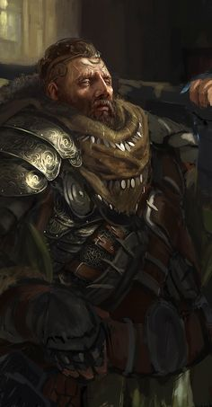 Barbarian - step2 by ~Grosnez on deviantART