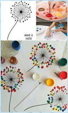 Spring Crafts For Kids, Diy Crafts For Kids, Fun Crafts, Arts And Crafts, Paper Crafts, Wooden Crafts, Summer Crafts, Drawing For Kids, Painting For Kids