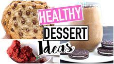 Healthy Dessert Ideas! Easy + Vegan & Paleo Friendly!