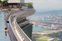 Marina Bay Sands - Swimming Pool