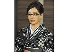 若村麻由美「着物に、メガネで、辛口で!」料理評論家役で『匿名探偵』第4話にゲスト出演!<インタビューvol.1> [テレビドガッチ]