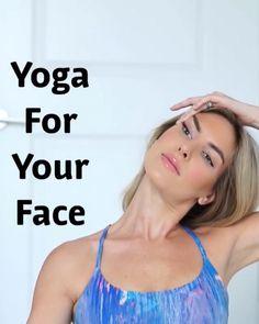 facial yoga Face yoga and facial exercises Yoga Facial, Facial Yoga Exercises, Facial Massage, Facial Muscles, Jowl Exercises, Face Facial, Saggy Neck Exercises, Facial Hair, Fat Face Exercises
