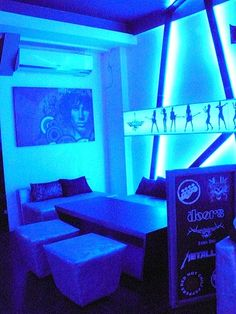 for a lounge-bar on the theme of music