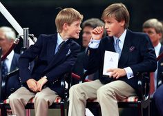 yoursweetremedy: Young Princes William and Harry