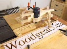 Matthias Wandel's Carving Machine