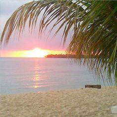 Sunrise in Hopkins Belize