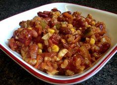Vörösbab ragu, húsmentes finomság, fél óra alatt! Csodás íze van és nagyon laktató!