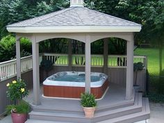 Enclosed spa idea