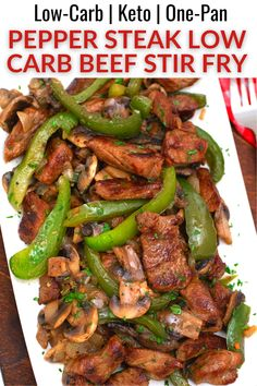 Low Carb Chicken Recipes, Healthy Low Carb Recipes, Low Carb Dinner Recipes, Beef Recipes, Cooking Recipes, Low Cab Recipes, Low Carb Quick Dinner, Low Carb Food, Easy Keto Recipes