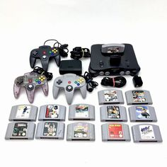 Nintendo 64 N64 PAL Bundle Expansion & 3 Controllers x13 Games VGC Console Nintendo 64, The Expanse, Consoles, Gaming, Ebay, Amp, Videogames, Console, Game
