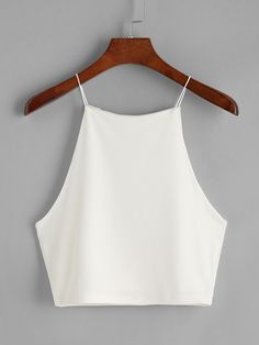 Shop Crop Cami Top online. SheIn offers Crop Cami Top & more to fit your fashionable needs.