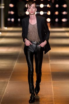 Saint laurent paris fashion week fall 2013 09