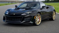 The black and gold Lotus Evora Sport 410 GP Edition is heading to America