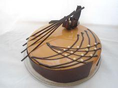 Торт Кофе-Шоколад-Карамель